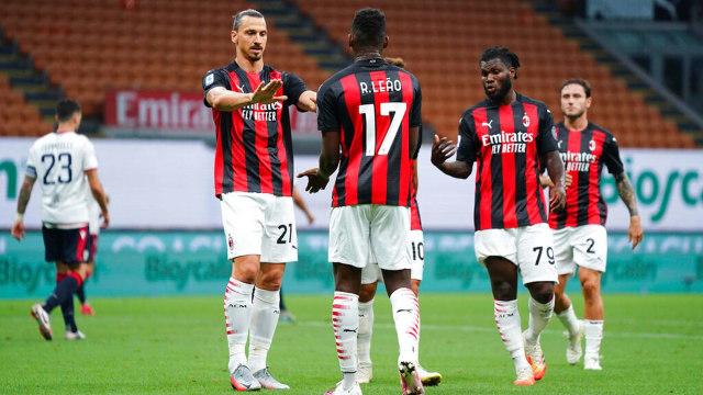 Hasil Liga Italia Semalam: Inter, Napoli, Roma, dan Milan Menang, Juve Kalah (579559)