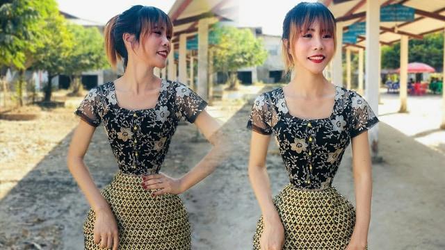 Penampilan Perempuan Myanmar dengan Pinggang Terkecil di Dunia (630374)