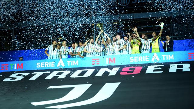 Foto: Juventus Rayakan Gelar Juara Liga Italia 2020 (648488)