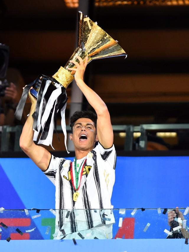 Foto: Juventus Rayakan Gelar Juara Liga Italia 2020 (648487)
