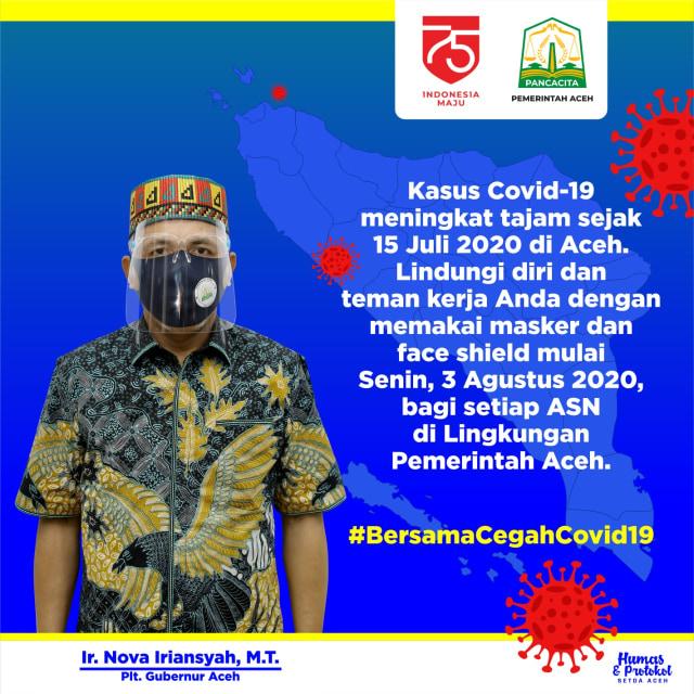 COVID-19 Melesat Cepat di Aceh, Tinggal 3 Kabupaten yang Masih Bebas (942763)
