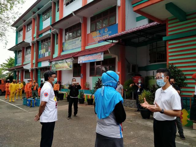 Simulasi Belajar Tatap Muka Akan Digelar di SMP Negeri 1 Pontianak  (267014)