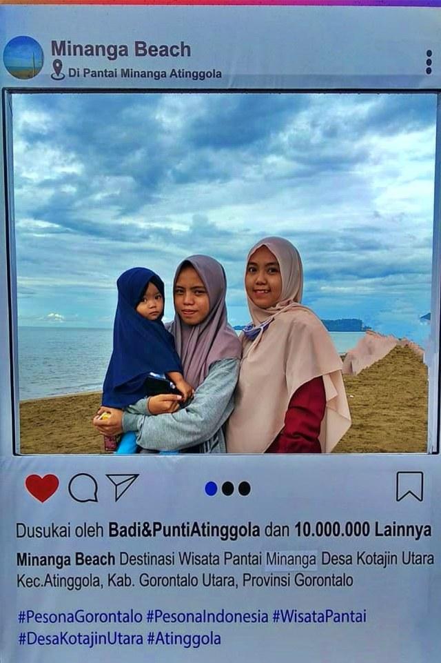 Pantai Minanga di Gorontalo Utara Jadi Primadona Saat Pandemi COVID-19 (595736)