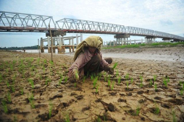 Foto: Pemanfaatan Sungai saat Musim Kemarau di Beberapa Daerah (794563)