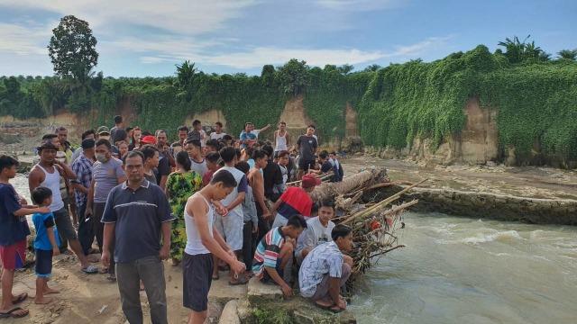 Mayat Tanpa Kepala di Sumut Ternyata Bocah 6 Tahun yang Hanyut di Sungai (526043)