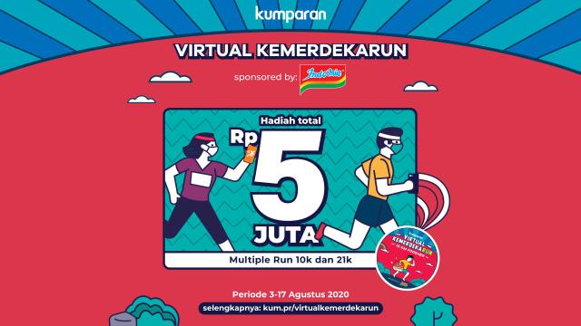 Ikuti Virtual Kemerdekarun dan Dapatkan Hadiah Total Rp 5 Juta (64369)