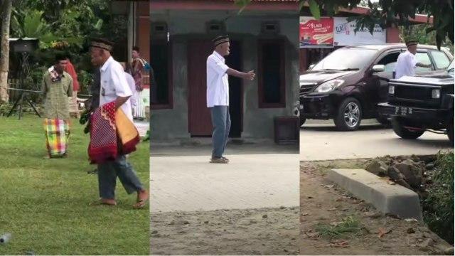 Viral, Potret Kakek Memakai Seragam SMA saat Salat Idul Adha Bikin Sedih (246616)