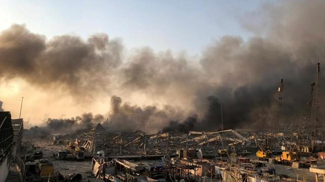 Ledakan Dahsyat di Beirut Diduga Berasal dari Gudang Bahan Peledak  (161810)