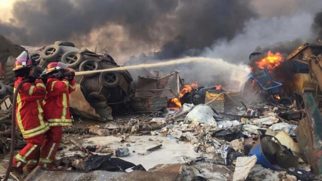 Ledakan Besar Beirut Lepaskan Gas yang Bikin Ketawa, Ini Bahayanya buat Tubuh (29446)