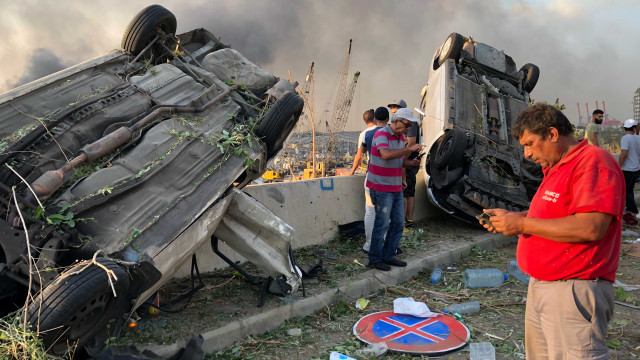 Korban Tewas Ledakan di Lebanon Bertambah Jadi 78 Orang (8108)