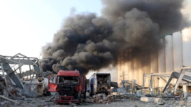 Awal Mula 2.750 Ton Amonium Nitrat Bisa Ada di Pelabuhan dan Hancurkan Lebanon (6)