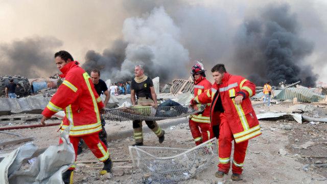 Ledakan di Lebanon, Pejabat Pelabuhan Beirut Ditetapkan Sebagai Tahanan Rumah (19878)