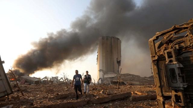 Macron Serukan Penyelidikan Internasional atas Ledakan Lebanon: Agar Transparan (2)