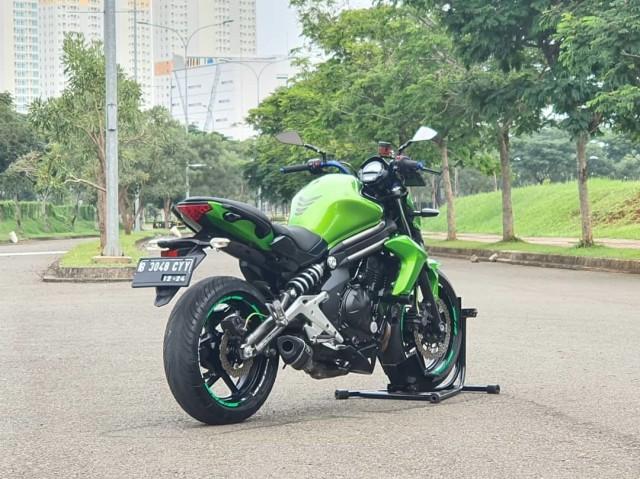 Kawasaki ER-6N Bekas, Moge Favorit Buat Naik Kelas, Harganya Cuma Rp 60 Jutaan (60362)
