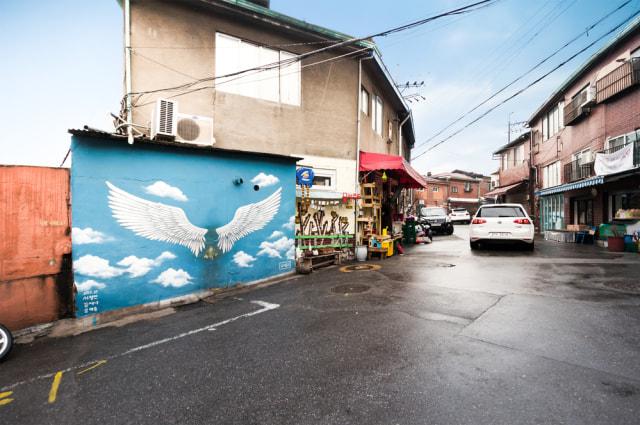 Ihwa, Kampung Kumuh yang Disulap Jadi Destinasi Wisata Instagramable di Seoul (2656)
