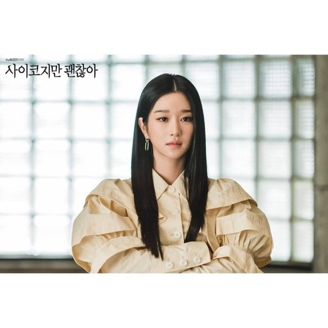 Makeup Korea ala Seo Ye Ji di It's Okay to Not Be Okay, dari Bold hingga Natural (4875)