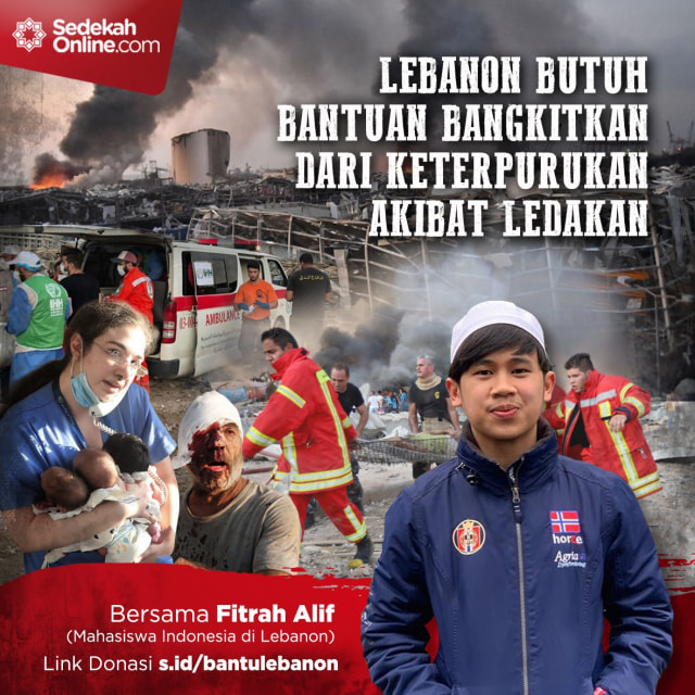Mahasiswa Indonesia Ajak Masyarakat Bantu Libanon Pascaledakan (144562)
