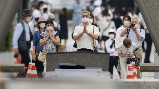 Foto: Peringatan Bom Hiroshima di Tengah Pandemi COVID-19 (356267)