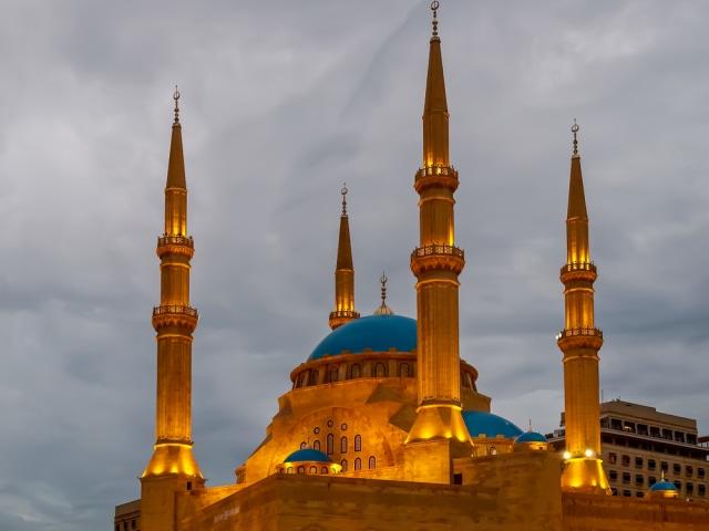 Muhammad Al-Amin, Masjid Menyerupai Hagia Sophia yang Hancur Oleh Ledakan Beirut (52398)
