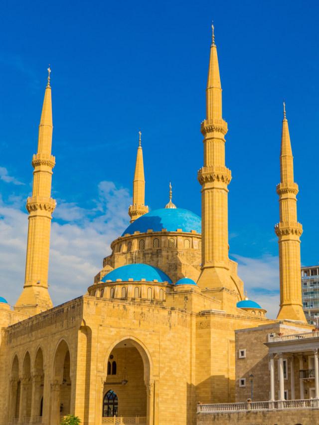 Muhammad Al-Amin, Masjid Menyerupai Hagia Sophia yang Hancur Oleh Ledakan Beirut (52396)