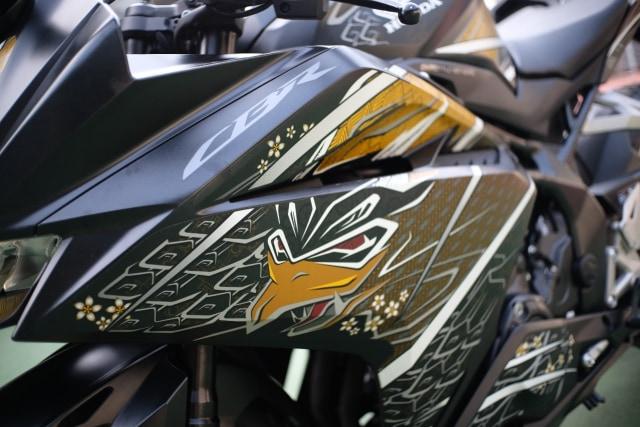 Foto: Lebih Dekat dengan New Honda CBR250RR SP (50304)