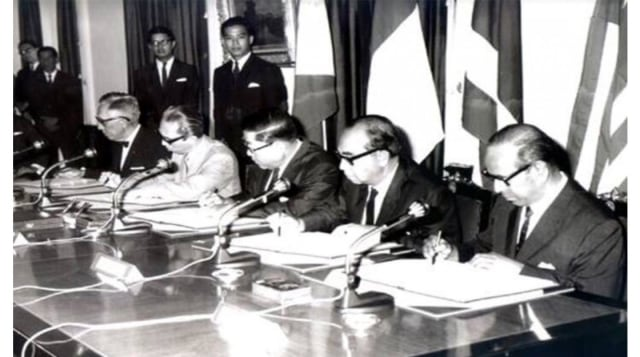 Deklarasi Bangkok, Cikal Bakal Berdirinya ASEAN 8 Agustus 1967 (110090)