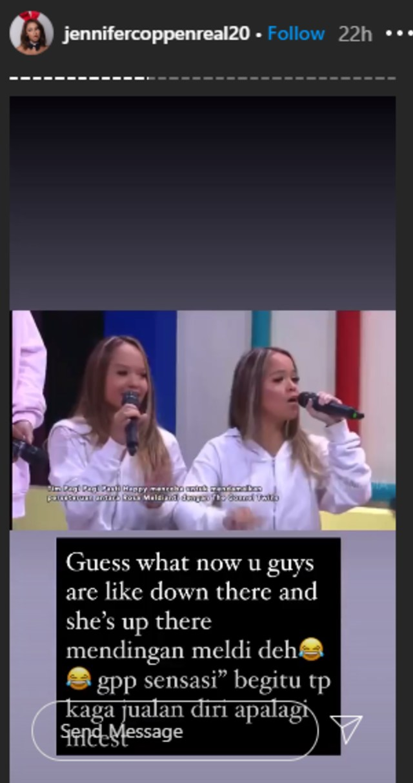 Sebut The Connell Twins Badut, Jennifer Coppen Serukan Tagar #teammeldi (13221)