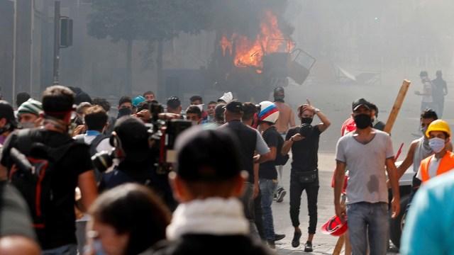 Buntut Ledakan Dahsyat, Pemerintahan Lebanon Runtuh (28559)