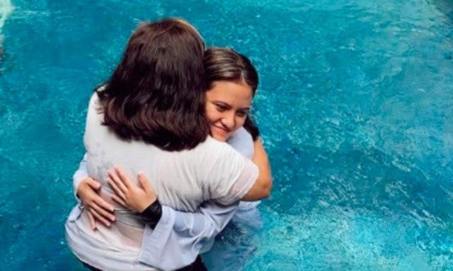 Marsha Aruan Unggah Momen saat Dirinya Dibaptis (726)