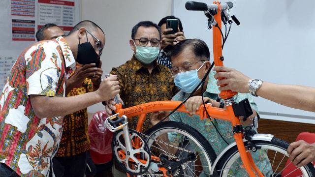 Sepeda Brompton PMI DKI dengan Tanda Tangan JK Akan Dilelang Mulai Rp 45 Juta (84488)