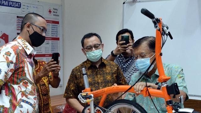 Sepeda Brompton PMI DKI dengan Tanda Tangan JK Akan Dilelang Mulai Rp 45 Juta (84490)