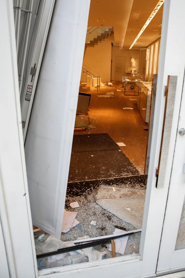 Rusuh dan Penjarahan di Chicago Dipicu Penembakan Polisi (12685)