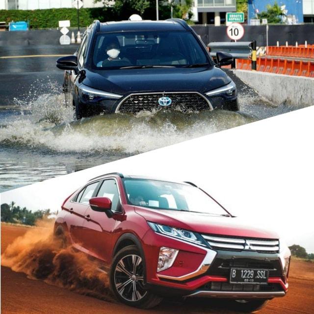 Duel Toyota Corolla Cross vs Mitsubishi Eclipse Cross, Pilih Siapa? (105968)