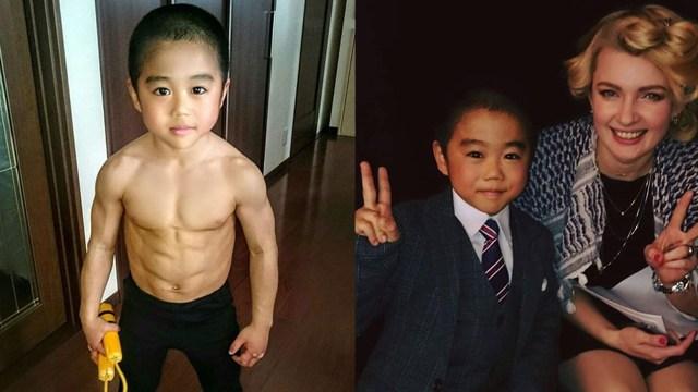 Kagumi Bruce Lee, Bocah 10 Tahun Sudah Jago Bela Diri dan Berotot bak Binaraga (1231438)
