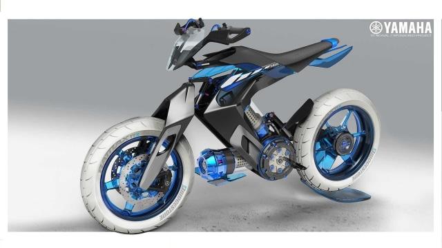 Yamaha Siapkan Motor Berbahan Bakar Air, XT500 H20 (116326)