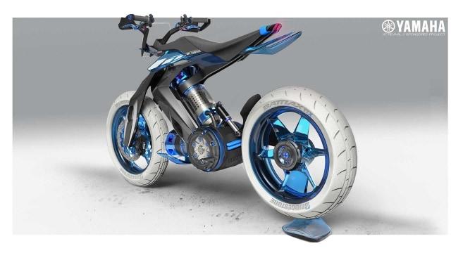 Yamaha Siapkan Motor Berbahan Bakar Air, XT500 H20 (116328)