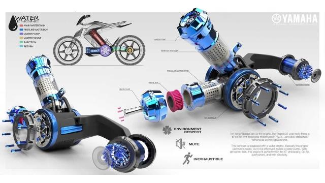 Yamaha Siapkan Motor Berbahan Bakar Air, XT500 H20 (116327)
