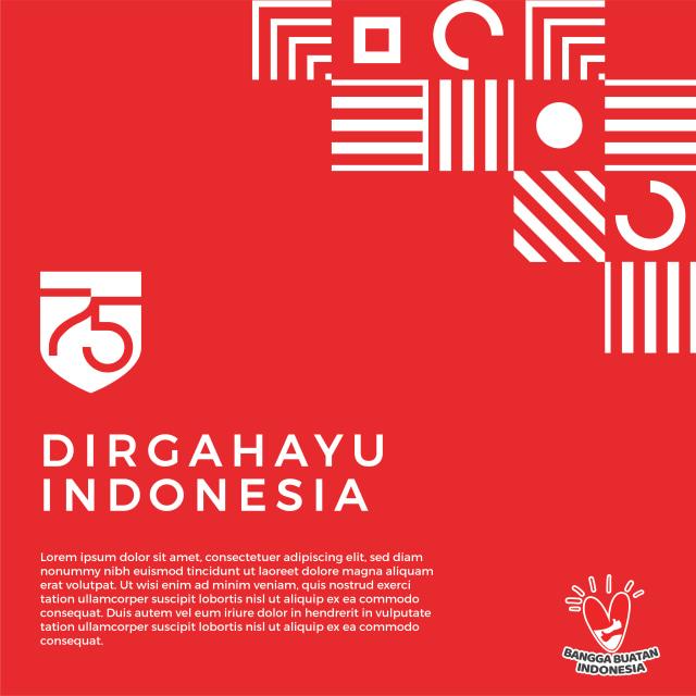 Makna Logo dan Tema HUT ke-75 RI - kumparan.com