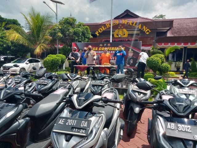 Begini Alur Penjualan Motor Bermasalah Kredit Macet di Kabupaten Malang (580967)