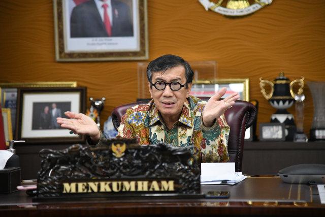 Yasonna Laoly Bagikan Edukasi soal Jenis-jenis Remisi di Indonesia (98616)