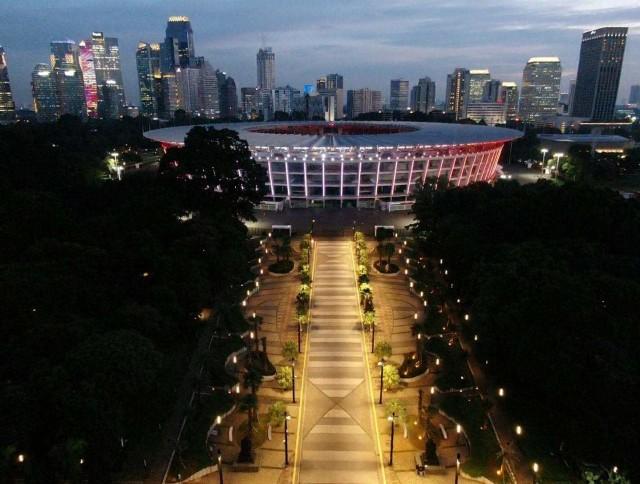 Ada Taman Baru yang Instagramable Hasil Renovasi GBK Senayan (107506)