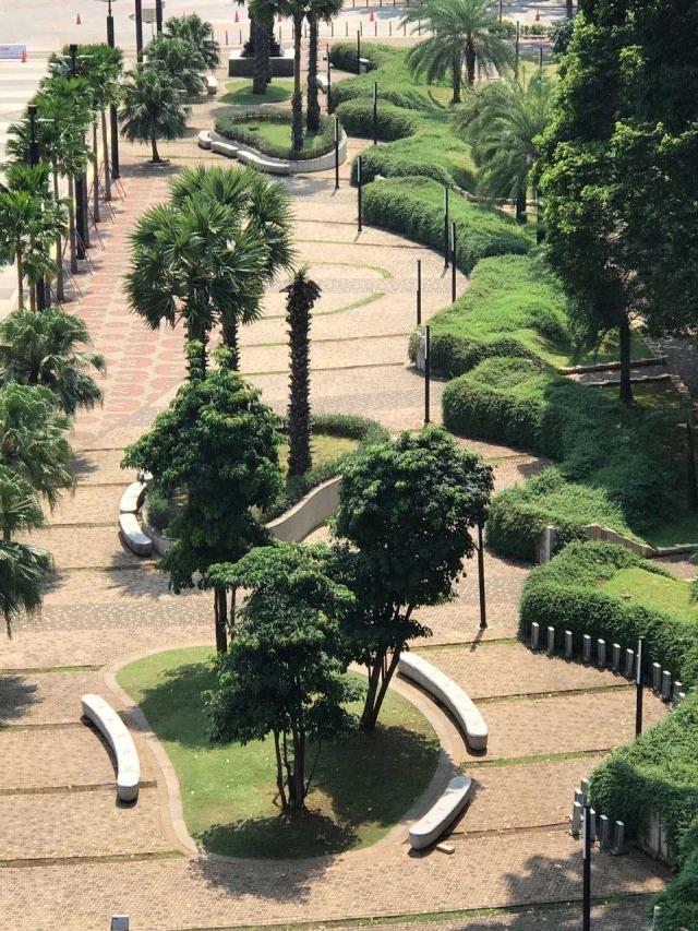 Ada Taman Baru yang Instagramable Hasil Renovasi GBK Senayan (107507)