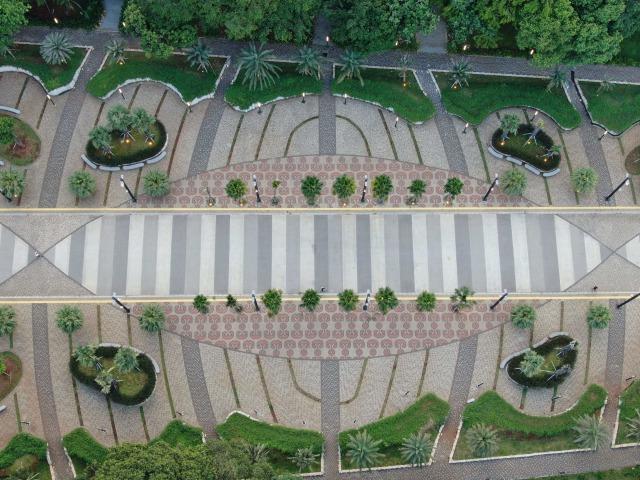 Ada Taman Baru yang Instagramable Hasil Renovasi GBK Senayan (107508)