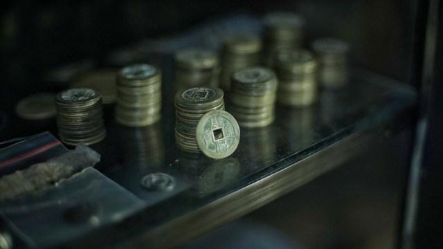 Foto: Koleksi Temuan Koin Bani Umayyah dari Dasar Sungai Musi (29831)
