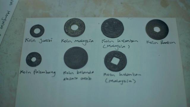 Foto: Koleksi Temuan Koin Bani Umayyah dari Dasar Sungai Musi (29833)