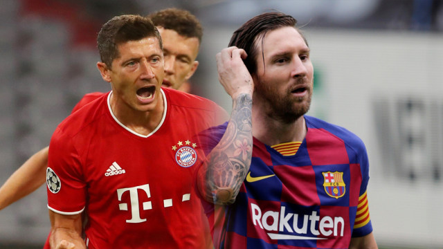 Jelang Barcelona vs Bayern Muenchen: Lewandowski Hebat tapi Messi Alien (95310)