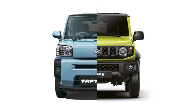 Antara Daihatsu Taft dan Suzuki Jimny, Mana yang Dipilih? (76577)