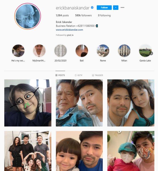 Sempat Bela Mati-matian, Kini Erick dan Jessica Iskandar Tak Saling Follow IG (110067)