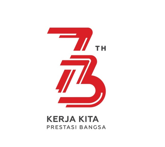 Desain Logo HUT RI dari Awal Kepemimpinan Jokowi hingga Sekarang (4)