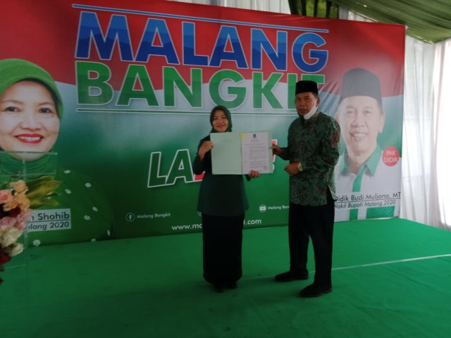 Resmi Diusung PKB di Pilkada Kabupaten Malang, Lathifah: Saya Deg-degan  (354197)
